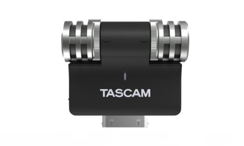 Tascam iM2 Condensor Microphone adaptor for iPhone